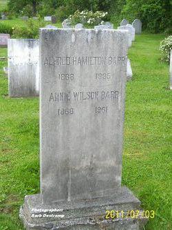 Annie <i>Wilson</i> Barr