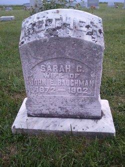 Sarah C Sallie <i>Zook</i> Baughman