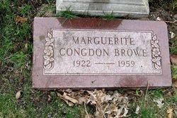 Marguerite Midge <i>Congdon</i> Browe