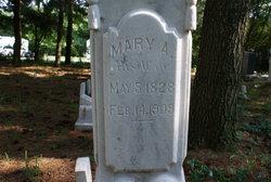 Mary Ann <i>Loughridge</i> Bond