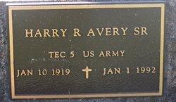 Harry Richard Avery, Sr
