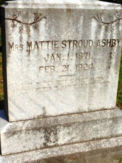 Mattie <i>Stroud</i> Ashby