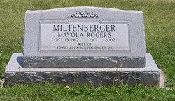 Mayola <i>Rogers</i> Miltenberger
