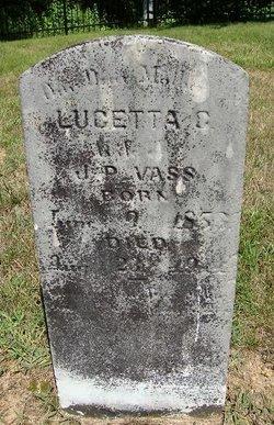 Lucetta Castilley <i>Webb</i> Vass