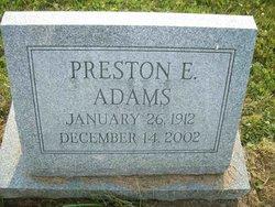 Preston Earl Adams