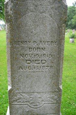 Henry Passamore Avery
