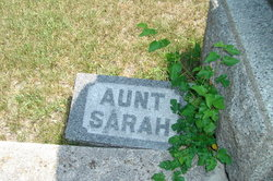 Sarah Jane Aunt Sarah <i>Richardson</i> Chandler