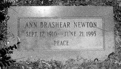 Ann Elizabeth <i>Brashear</i> Newton
