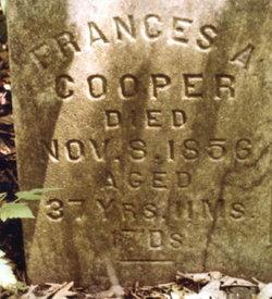 Frances Adaline <i>Garrison</i> Cooper