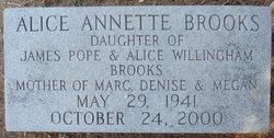 Alice Annette Brooks