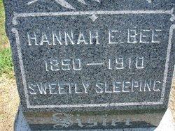 Hannah E. Bee