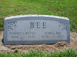 Harriet L. Ellis <i>Wiltsee</i> Bee