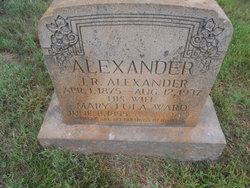 Mary Lula <i>Ward</i> Alexander