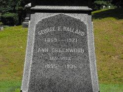 Ann <i>Greenwood</i> Ballard