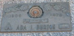 Ada I. Burton