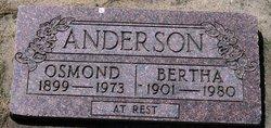 Osmond bud Anderson