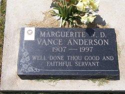 Marguerite Wood <i>Davis</i> Anderson