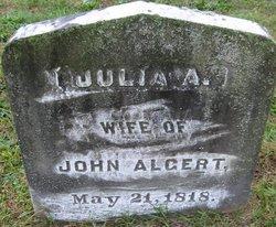 Julia Ann <i>Houck</i> Algert