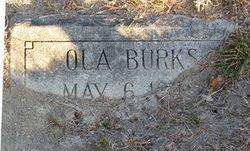 Ola Lee Burks
