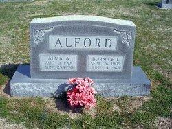 Burnice L Alford