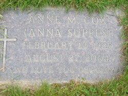 Anne M. <i>Suppes</i> Cox