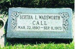 Bertha Laverne <i>Wadsworth</i> Call