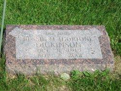 Bessie M. <i>Horton</i> Dickinson