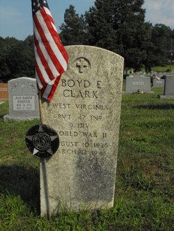 Boyd Ernest Clark