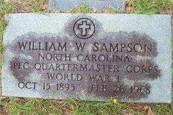 PFC William Worth Sampson