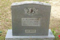Bennie Boncil Sampson, Sr