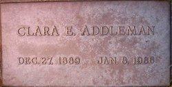 Clara Ethel <i>Ray</i> Addleman