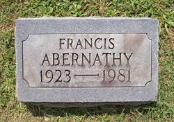 Frances Abernathy