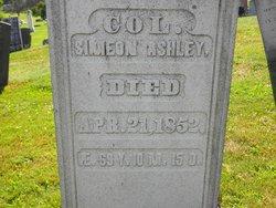 Col Simeon Ashley