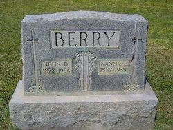 Nannie Elizabeth <i>Mabe</i> Berry