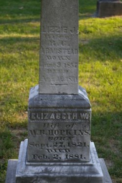 Elizabeth Jane <i>Hopkins</i> Armistead