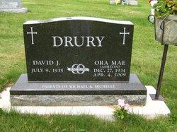 Ora Mae <i>Ashton</i> Drury