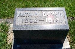 Alta H. Boyer