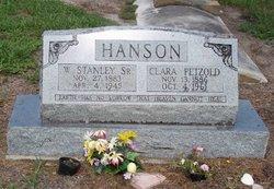 Clara <i>Petzold</i> Hanson