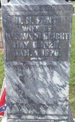 Harriet N. <i>Fant</i> Woolbright