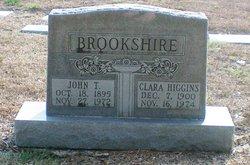 Clara Belle <i>Higgins</i> Brookshire