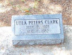 Lula <i>Peters</i> Clark