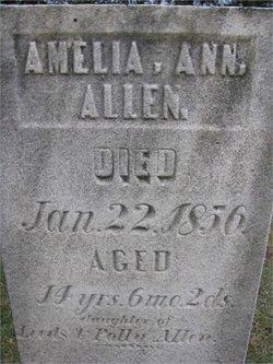 Amelia Ann Allen