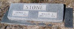Maggie Ellen <i>Harmon</i> Stone