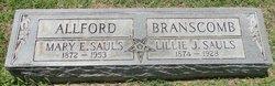 Mary E <i>Sauls</i> Allford