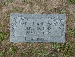 Pat Lee Anderson