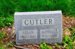 Susan Maria <i>Kittle</i> Cutler