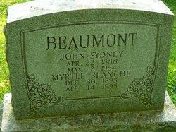Myrtle Blanche Beaumont