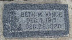 Beth Matilda Vance
