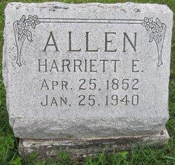 Harriett E. Allen