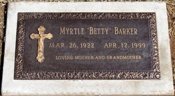 Myrtle E. Betty Barker